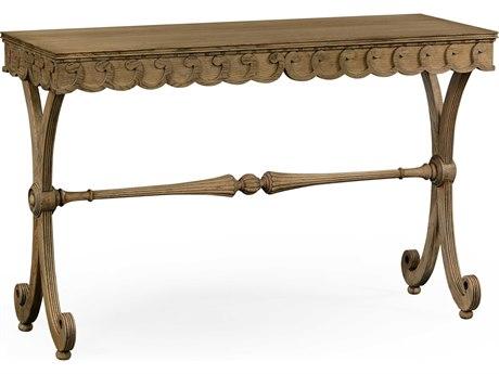 Jonathan Charles William Yeoward Washed Oak 50 x 18 Rectangular Console Table