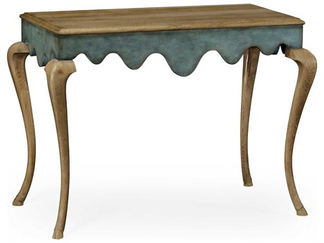 Jonathan Charles William Yeoward Washed Oak 48.5 x 26.5 Rectangular Console Table