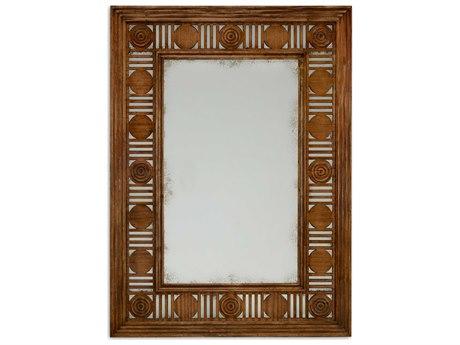 Jonathan Charles William Yeoward 39 x 54 Grey Fruitwood Wall Mirror