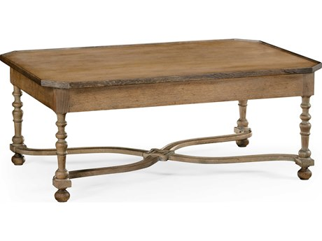Jonathan Charles William Yeoward Vintage Oak 46 x 30 Rectangular Coffee Table