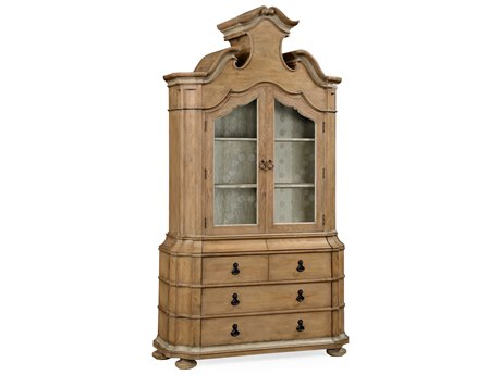 Jonathan Charles William Yeoward Vintage Oak China Cabinet