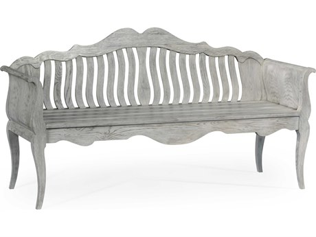 Jonathan Charles William Yeoward collected Cloudy Oak Finish Bench