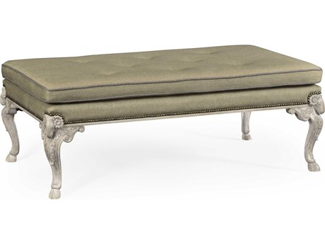 Jonathan Charles William Yeoward collected Greyed Oak Small Accent Bench