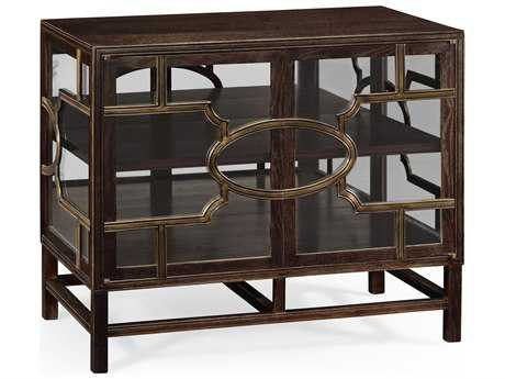 Jonathan Charles William Yeoward collected Chocolate Oak China Cabinet
