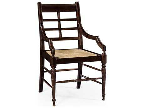 Jonathan Charles William Yeoward collected Chocolate Oak Accent Arm Chair