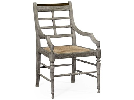 Jonathan Charles William Yeoward collected Greyed Oak Finish Accent Arm Chair