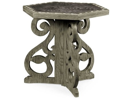 Jonathan Charles William Yeoward collected Charcoal Oak Finish End Table