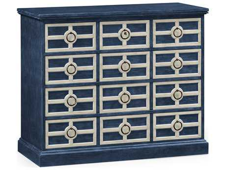 Jonathan Charles William Yeoward collected Midmoor Blue Chest of Drawers