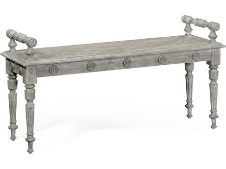 Jonathan Charles William Yeoward collected Greyed Oak Finish Bench