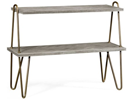 Jonathan Charles William Yeoward Collected - Urban Cool Greyed Oak Genesso Console Table