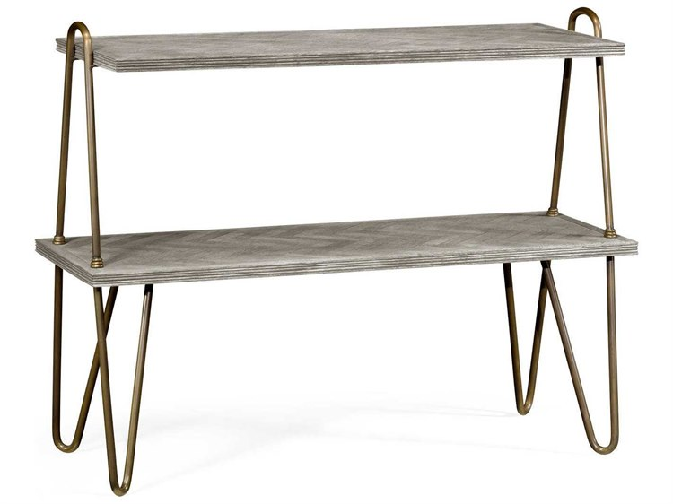 Jonathan Charles William Yeoward Collected   Urban Cool Greyed Oak Genesso Console  Table