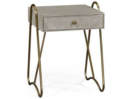 Jonathan Charles William Yeoward Collected - Urban Cool Greyed Oak Genesso Nightstand