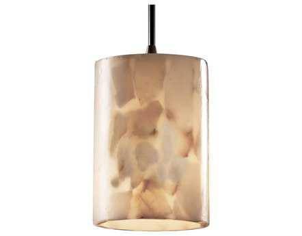 Justice Design Group Alabaster Rocks Small Resin Mini-Pendant