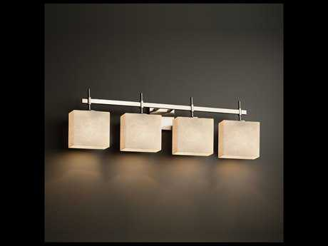 Justice Design Group Clouds Union 4-Light Bath Bar