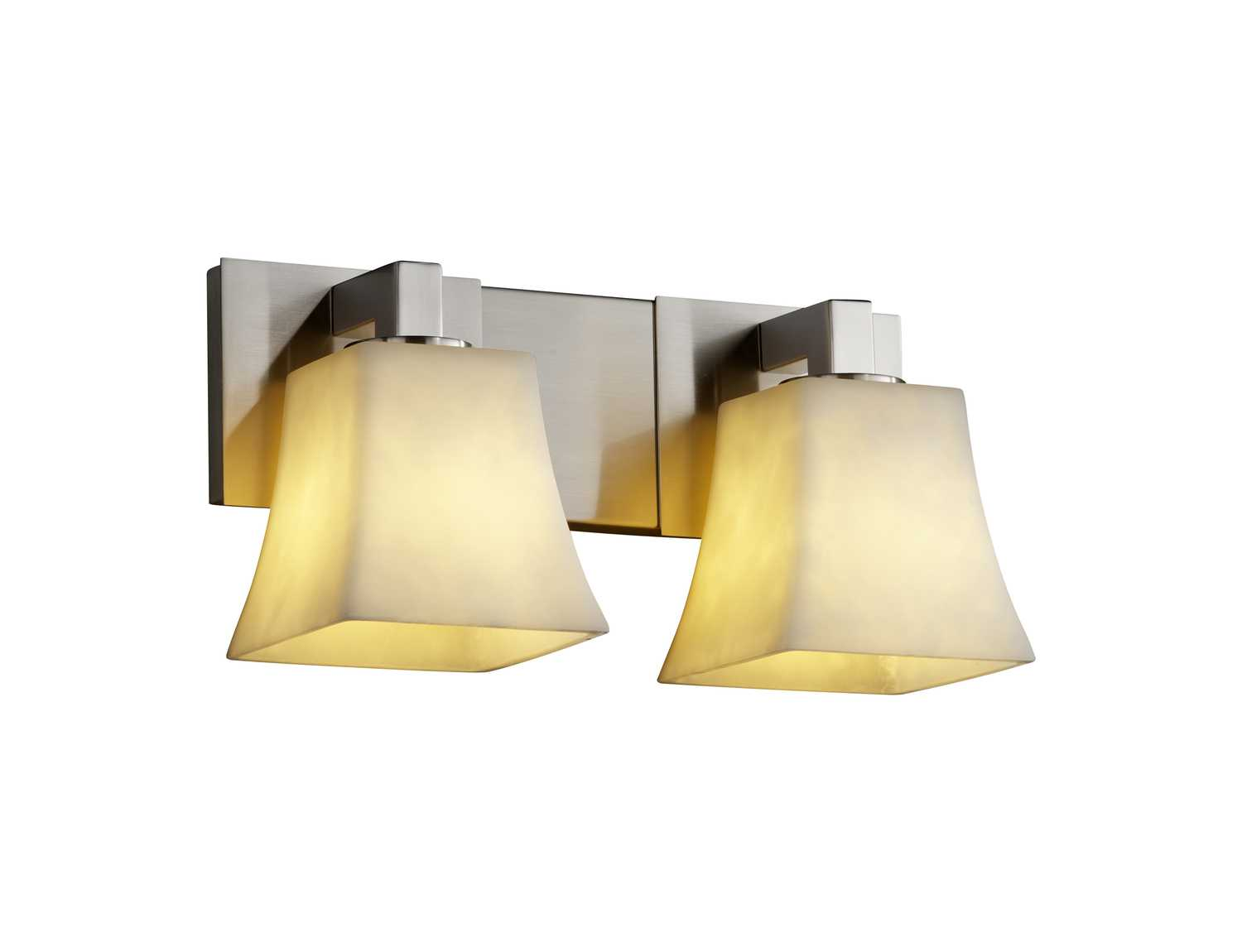 Justice design group clouds modular resin two light bath bar jdcld8922 - Justice design group bathroom lighting ...
