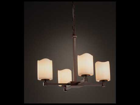 Justice Design Group Chandlearia Tetra 5-Light Chandelier