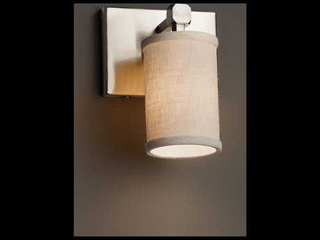 Justice Design Group Textile Tetra 1-Light Wall Sconce