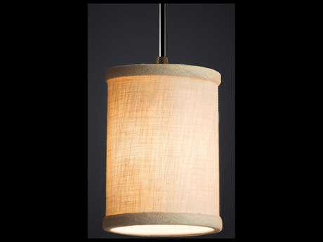 Justice Design Group Textile Mini 1-Light Pendant