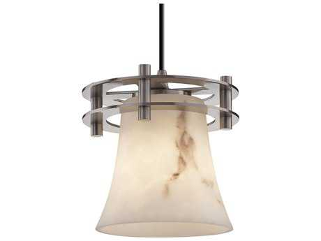 Justice Design Group Lumenaria Circa 1-Light Small Pendant