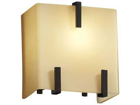 Justice Design Group Fusion Clips (Single) 1-Light Wall Sconce
