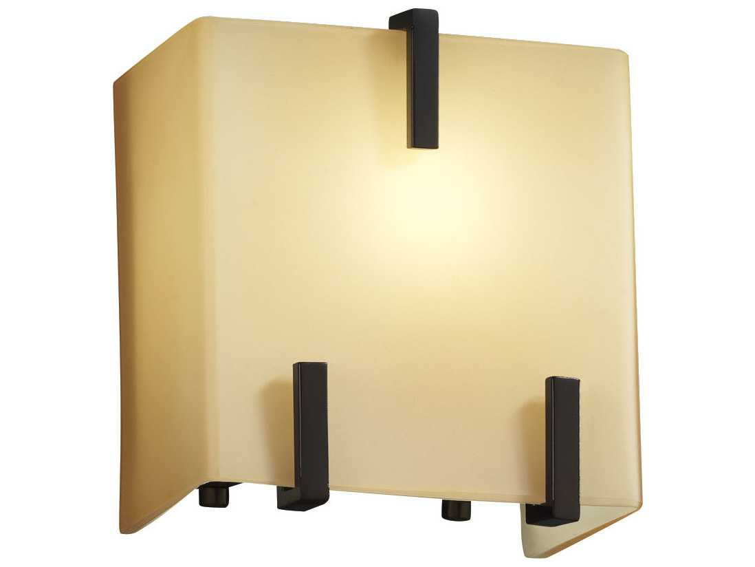 Justice Design Wall Sconces : Justice Design Group Fusion Clips (Single) 1-Light Wall Sconce JDFSN8871
