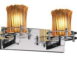 Justice Design Group Veneto Luce Circa 2-Light Bath Bar