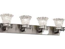 Justice Design Group Veneto Luce Circa 4-Light Bath Bar