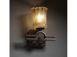 Justice Design Group Veneto Luce Argyle Venetian Glass Wall Sconce