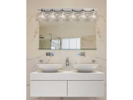 Justice Design Group Veneto Luce Argyle 6-Light Bath Bar
