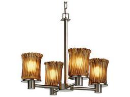 Justice Design Group Veneto Luce Rondo 4-Light Chandelier