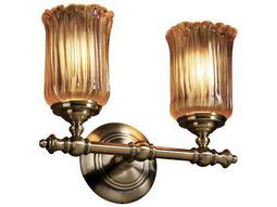 Justice Design Group Veneto Luce Tradition 2-Light Bath Bar