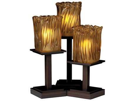 Justice Design Group Veneto Luce Montana 3-Light Table Lamp