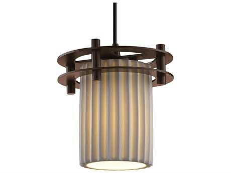 Justice Design Group Limoges Circa 1-Light Small Pendant