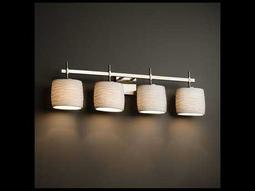 Justice Design Group Limoges Union 4-Light Bath Bar