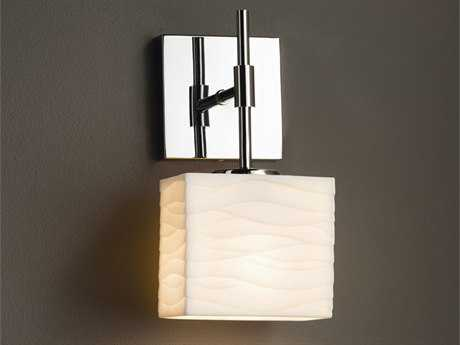 Justice Design Group Limoges Union ADA 1-Light Wall Sconce