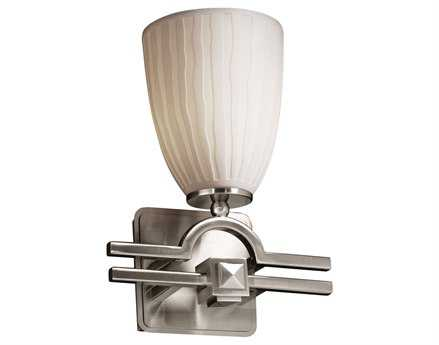 Justice Design Group Limoges Argyle Translucent Porcelain Wall Sconce