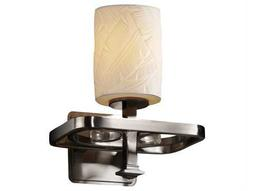 Justice Design Group Limoges Arcadia Translucent Porcelain Wall Sconce