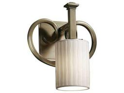 Justice Design Group Limoges Heritage Translucent Porcelain Wall Sconce