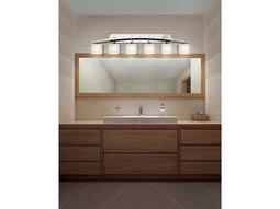 Justice Design Group Limoges Archway Translucent Porcelain Six-Light Bath Bar Light