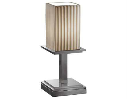 Justice Design Group Limoges Montana Short Translucent Porcelain Table Lamp