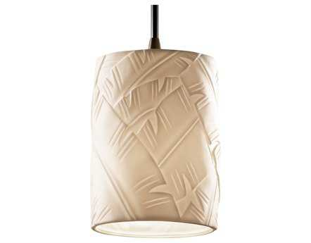 Justice Design Group Limoges Translucent Porcelain Mini-Pendant