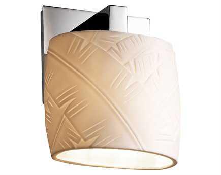 Justice Design Group Limoges Translucent Porcelain Modular Wall Sconce