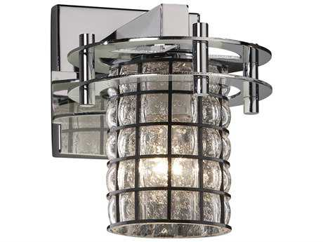 Justice Design Group Wire Glass Circa 1-Light Wall Sconce