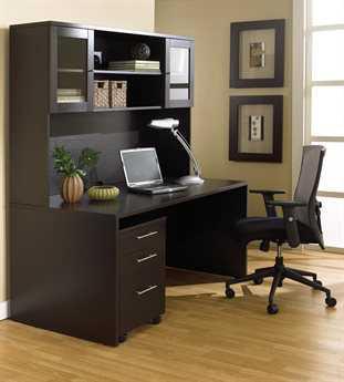 Unique Furniture 100 Collection Espresso Office Set