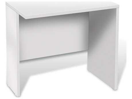 Unique Furniture 100 Series White 32'' x 20'' Narrow Return Desk