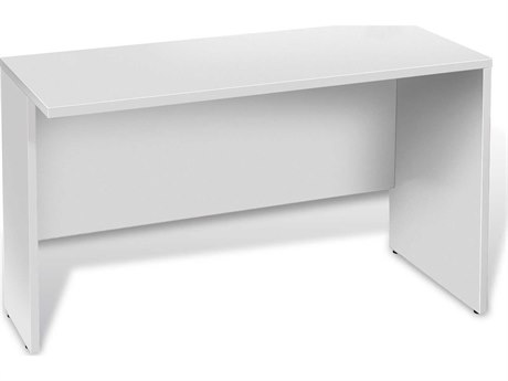 Unique Furniture 100 Series White 48'' x 20'' Narrow Return Desk