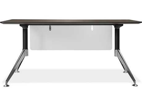 Unique Furniture 300 Series 63'' x 32'' Rectangular Espresso Computer Desk