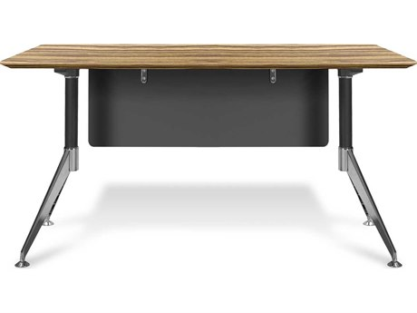 Unique Furniture 400 Series Zebrano 55'' x 27'' Computer Desk