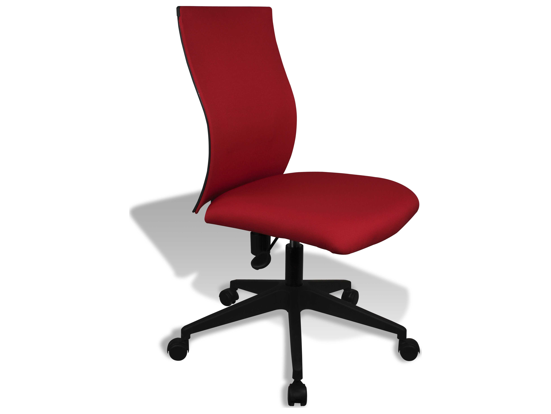 unique furniture kaja red office chair je5327