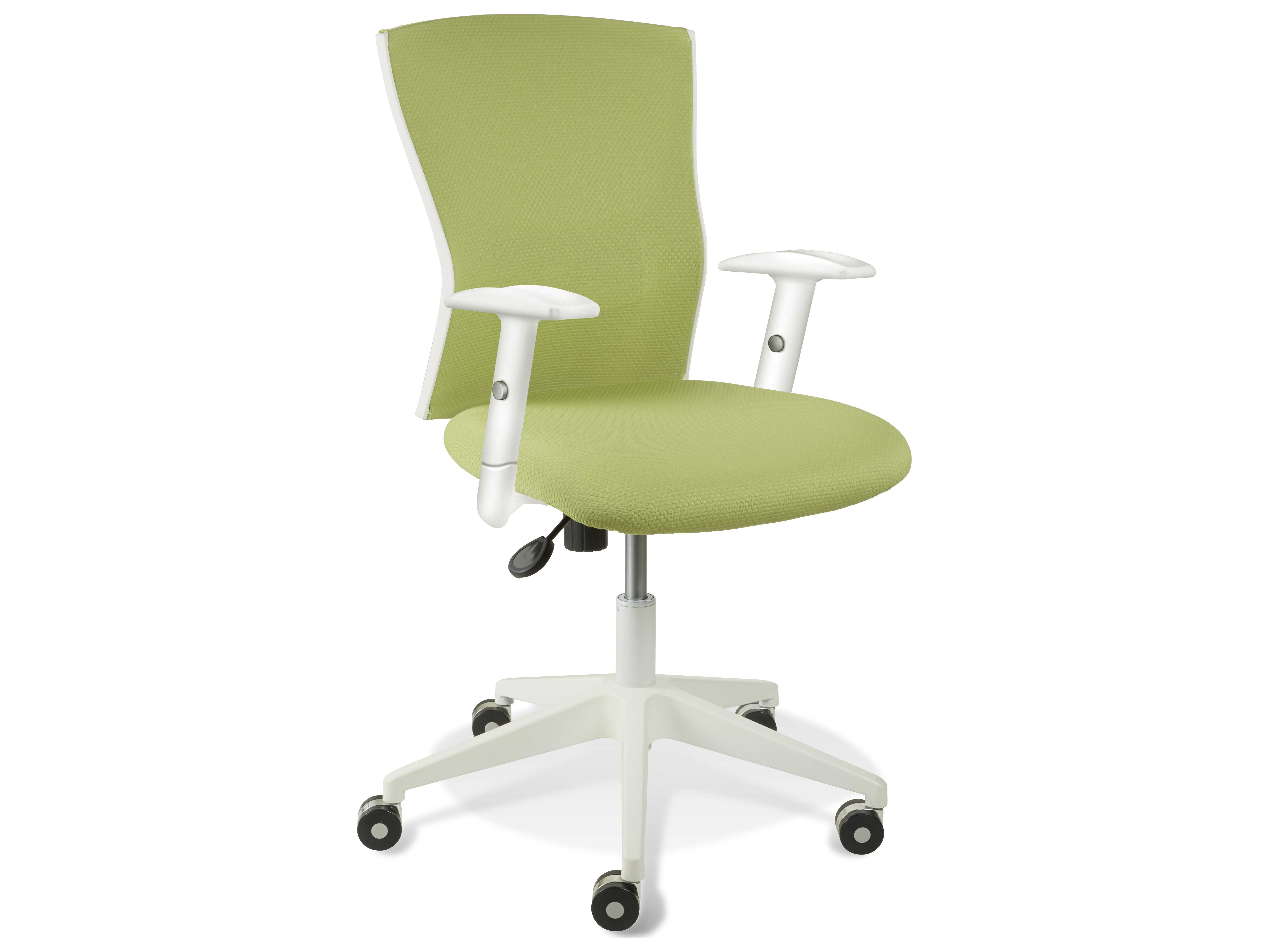 Unique Furniture Sanne Green Arm Office Chair JE53665364